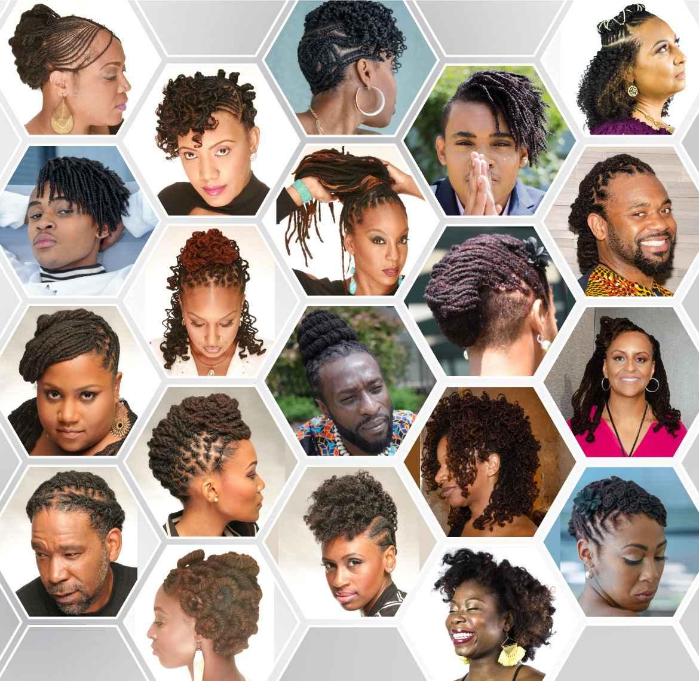Locs and Loose Natural Hair